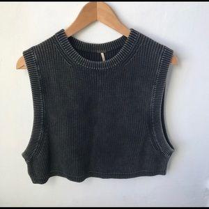 Free People Knit Crop Top